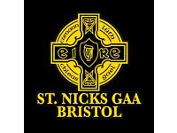 Bristol Gaelic Football Team - St Nicks GAA Bristol