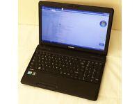 Toshiba 15.6 laptop: Satellite C660-155, i3-380M, 4GB Ram, Win7 64