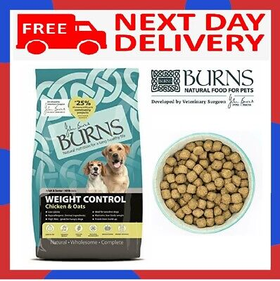 Burns Weight Control Complete Dry Adult and Senior Dog Food Chicken 2 kg