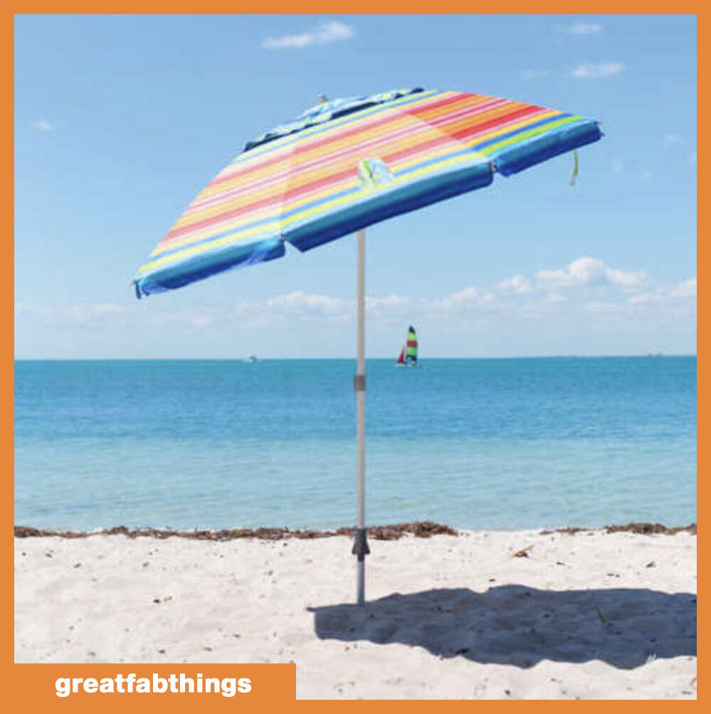 Tommy Bahama 7 ft Beach Umbrella 2018 Collection - Multicolo