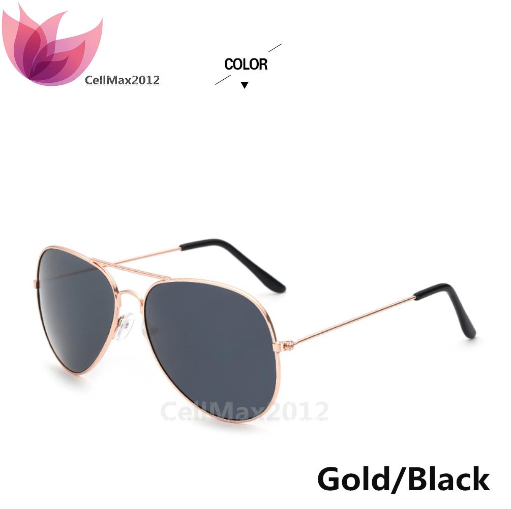 Gold / Black Lens