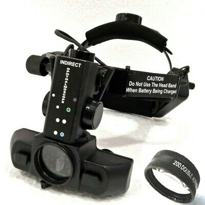 Binocular Indirect Ophthalmoscope With 20 D Accessories Case Free Shipping