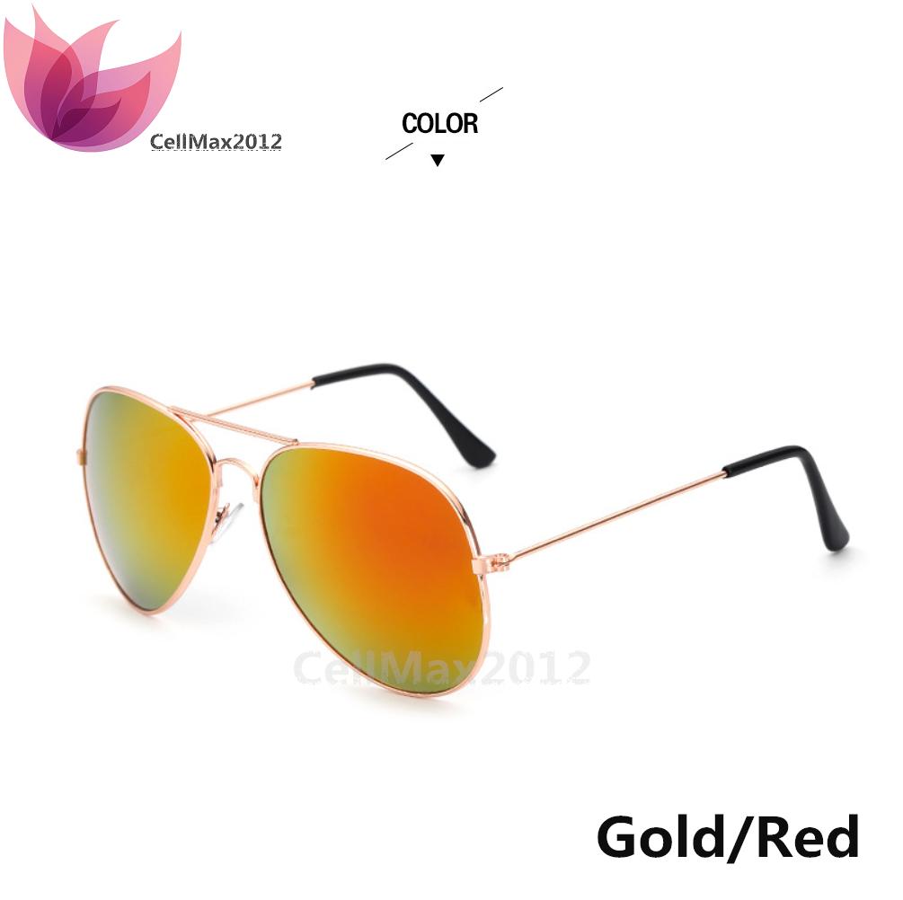 Gold / Red Lens