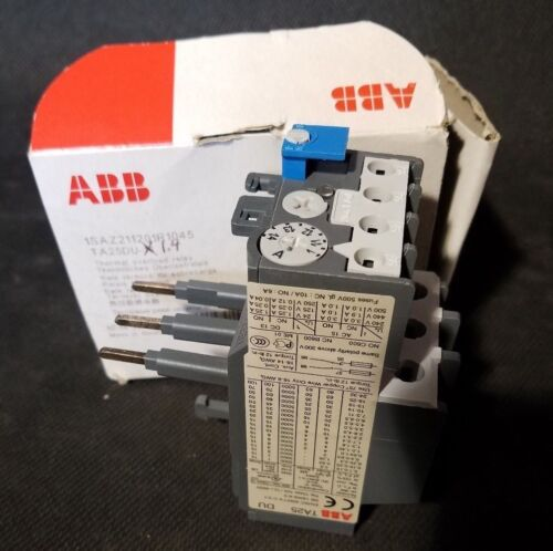 NEW ABB TA42DU25 690VAC 25A 3-POLE THERMAL OVERLOAD RELAY