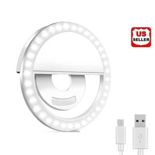 Portable Selfie LED Light Ring Fill Camera Flash For Mobile Phone Universal iPad Cell Phone Accessories