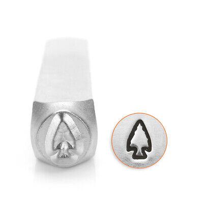 Arrowhead ImpressArt Metal Design Stamp, 6mm- Native American, Jewelry Stamping