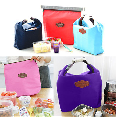 Thermal Insulated Cooler Waterproof Lunch Tote Storage ...