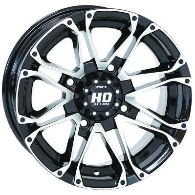 ITP SS212 Machined ATV Wheel Front//Rear 12x7 4//137 12SS306 5+2