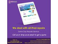All iPad repairs replacement done on while you wait basis at Phone house Borehamwood .