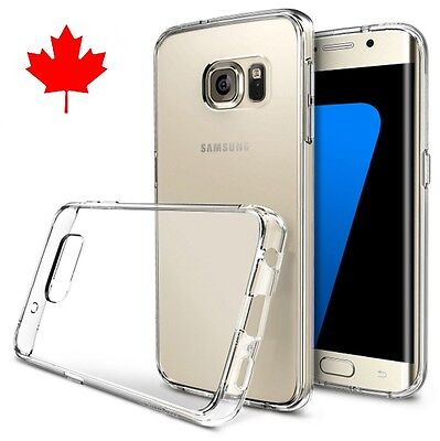 Case for Samsung GALAXY S7 EDGE-Superior / Best Quality Clear TPU Gel