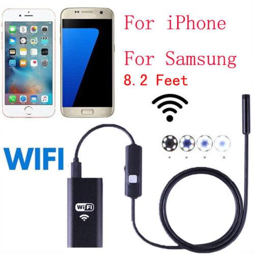 Wifi Wireless Waterproof Borescope Endoscope Inspection C...