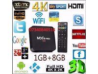 ANDROID MXQ PRO 1GB RAM 8 GB NAND FLASH LATEST 7.1 ANDROID IPTV FLASH ROM