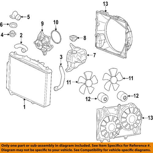 Cadillac Gm Oem 04 09 Srx Engine Water Pump 12595614 Ebay