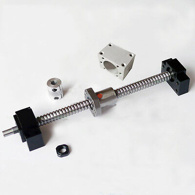Cnc Parts Ball Screw 1605-1500 End Support12 Coupler With Ballnut Housing