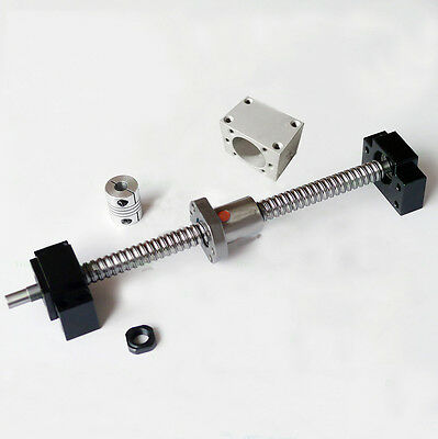 Cnc Parts Ball Screw 1605-1200 End Support12 Coupler With Ballnut Housing