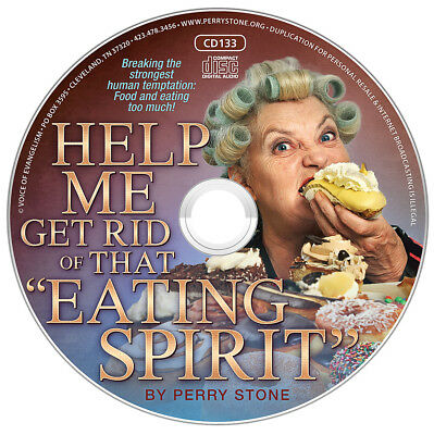 Perry Stone  Help Me Get Rid Of That  Eating Spirit  Cd New Breaking Stronghold