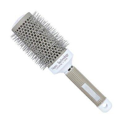 Hair Brush Nano Thermal Ceramic Ionic Round Barrel Comb Styling Brush, 2 Inch