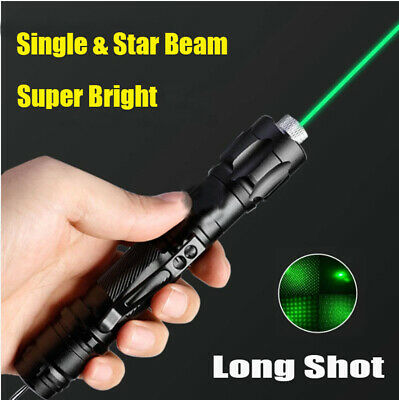 990miles 532nm Green Laser Pen Pointer Visible Star Beam Light Lazer 1mw Torch