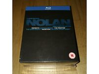NEW SEALED Warner Bros. Christopher Nolan - Directors Collection / Blu-Ray