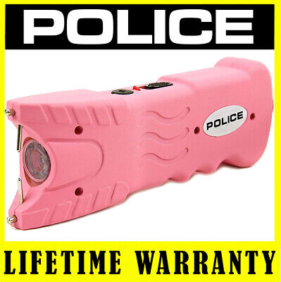 Police Stun Gun Pink 916 560 Bv Heavy Duty Rechargeable Led Flashlight