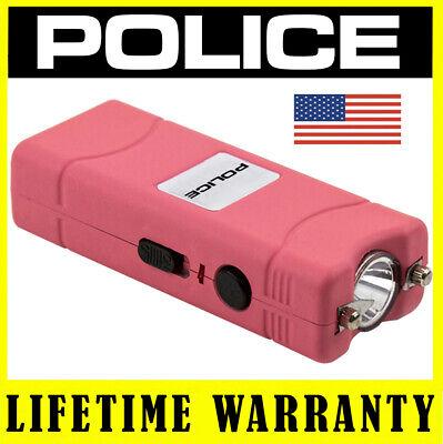 Police Pink Mini Sun Gun 801 390 Billion Rechargeable Led Flashlight