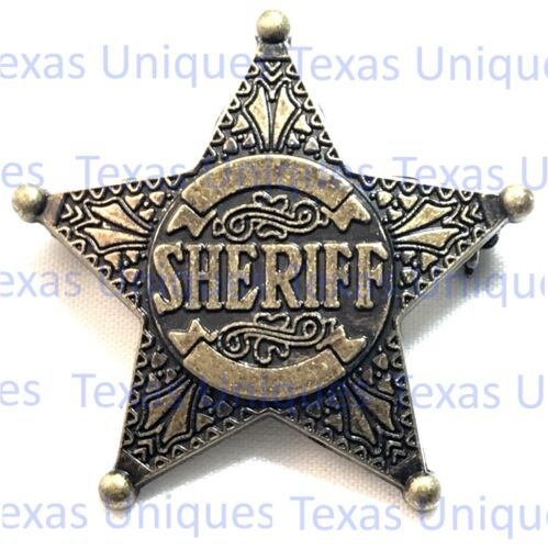 Western Old West Sheriff Badges BAG26