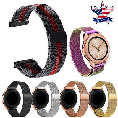 Milanese Loop Wrist Watch Strap Band Bracelet For Samsung Galaxy Watch 42/46mm