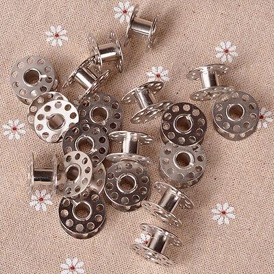 20 Pcs Sewing Machine Bobbins Stainless Metal For Kenmore Viking Singer XR - $10.37