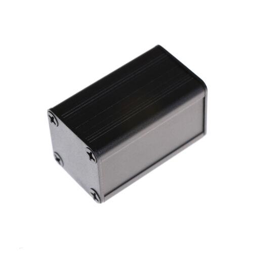 Aluminum Project Box Enclousure DIY 40*25*25mm Black