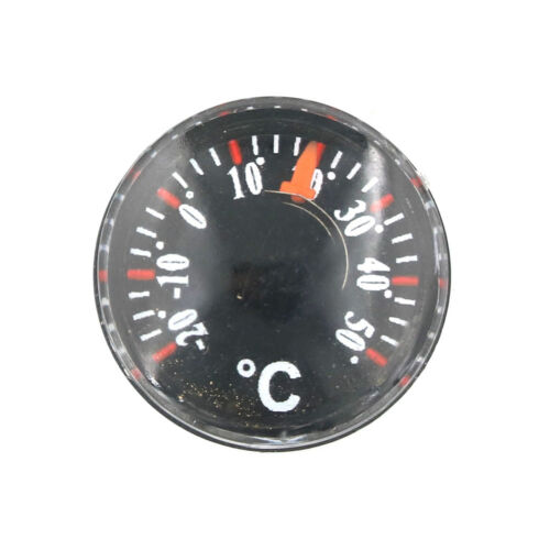 Mini Thermometer Plastic pointer Round Degrees Indoor and Outdoor Household TB