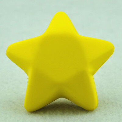 Five Star Shaped Hand Wrist Exercise Stress Relief Squeeze Soft Foam Ball P*US (Star Stress Ball)