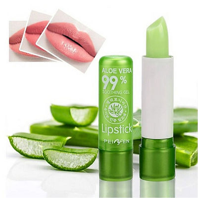 Moisture Melt Lip Balm Long Lasting Change Color Lipstick Aloe Lip Gloss BH