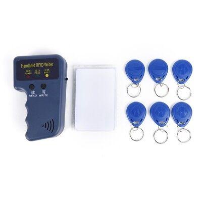 13pcs Handheld Rfid Id Card Copierreader Duplicator 6 Writable Tags 6 Cards Us