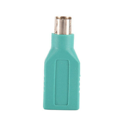 1x USB Female in to Male Adapter Converter for PS2 Computer Keyboard Mouse RS