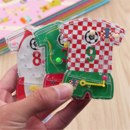 2pcs 3D Puzzle Maze Jersey Toy Hand Game Case Box Fun Brain