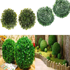 15CM Artificial Plant Ball Topiary Tree Boxwood Home Outdoor Wedding Party new.