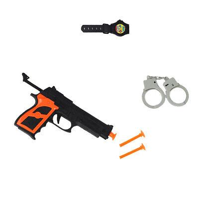 6pcs Simulation Pistole Kugel Handschellen für Kinder Polizei Kostüm - Pc Polizei Kostüm