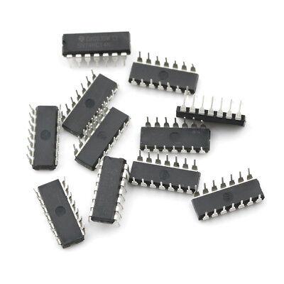 10X IC SN74HC14N 74HC14N 74HC14 CMOS INV 14-DIP GN