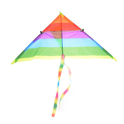 Rainbow Kite Outdoor Baby Toy For Kids Kites without Control Bar and LineDsa