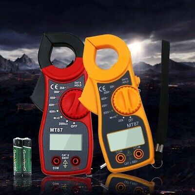 Mt87 Digital Multimeter Amper Clamp Meter Current Acdc Current Voltage Tester