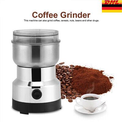 NEU Elektrisch Kaffeemühle Kaffemühle Zerkleinerer Espressomühl Kaffee Nuss150 W Kaffeemühle