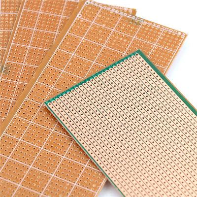 5pcs 6.5x14.5cm Stripboard Board Uncut Pcb Platine Single Side Circuit Ec