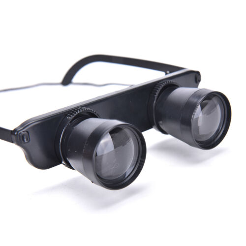 3x28 Magnifier Glasses Style Outdoor Fishing Optics Binoculars Telescope_xc