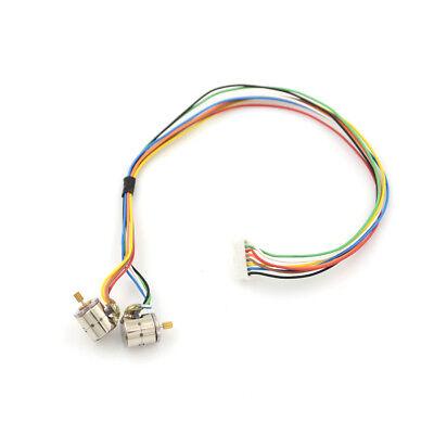 1set2pcs 8mm 9 Teeth Micro 2-phase 4-wire Stepping Motor Stepper Motor Lu