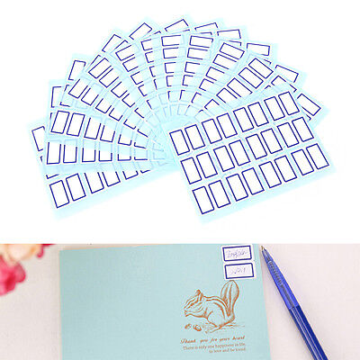 Self Adhesive White Label Writable Name Stickers Blank&Note Labels GN