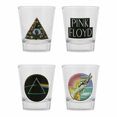 Logo Shot-Gläser 4er Set - Verpackt Musik Homewear (Pink Shot Gläser)