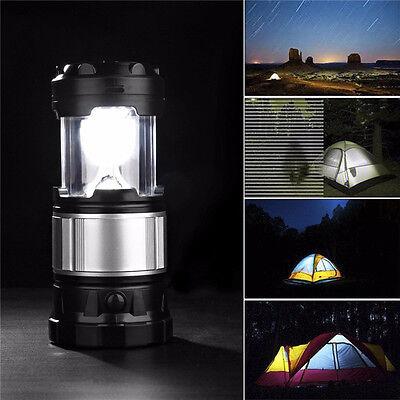 Campinglampe LED Campingleuchte Laterne Zeltlampe Akku Solar Lampe Camping NEU