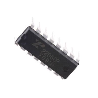 Xr2206 Monolithic Function Generator Ic 16 Pin Dip Xr2206cp Pt