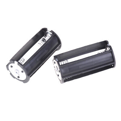 2Pcs 3 x AA Battery Plastic Holder Box Case  for Flashlight Torch*~*