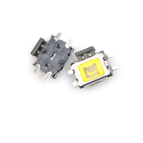 10X YD-3414 4Pin SMD Turtle type Tact Power Side Switch Button MEHVJ uWMWUS